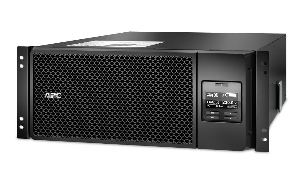 Záložní zdroj UPS APC Smart-UPS SRT 6000VA RM Záložní zdroj UPS, 6000 W, RM, 230 V, On-line, 4U, Rack Mount SRT6KRMXLI
