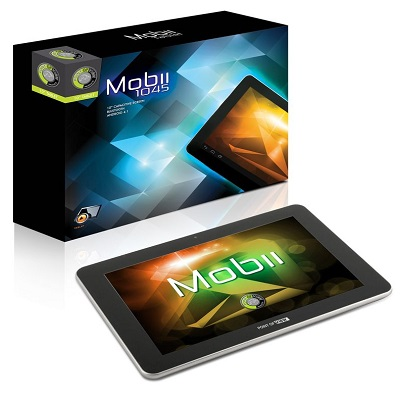 Tablet POINT OF VIEW PC Mobii 1045 Tablet, IPS 10, 8 GB, Quad Core, 3D akcelerace, Wi-Fi, BT, HDMI, Android 4, CZ - OPRAVENÉ POVT0079V2