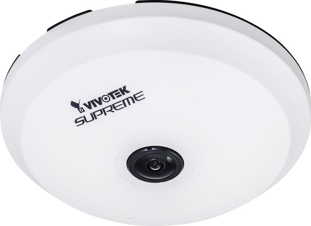 IP kamera VIVOTEK FE8174 IP kamera, CMOS max.2560x1920, 15 sn/s, obj. 1,1 mm, 180, PoE, DI/DO FE8174