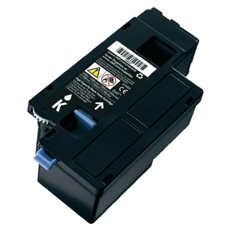 Toner Dell černý Toner pro Dell 1250c, 1350cnw, 1355cn, 1355cnw, C1760nw, C1765nf, C1760nw, výdrž 2000 stran 593-11140