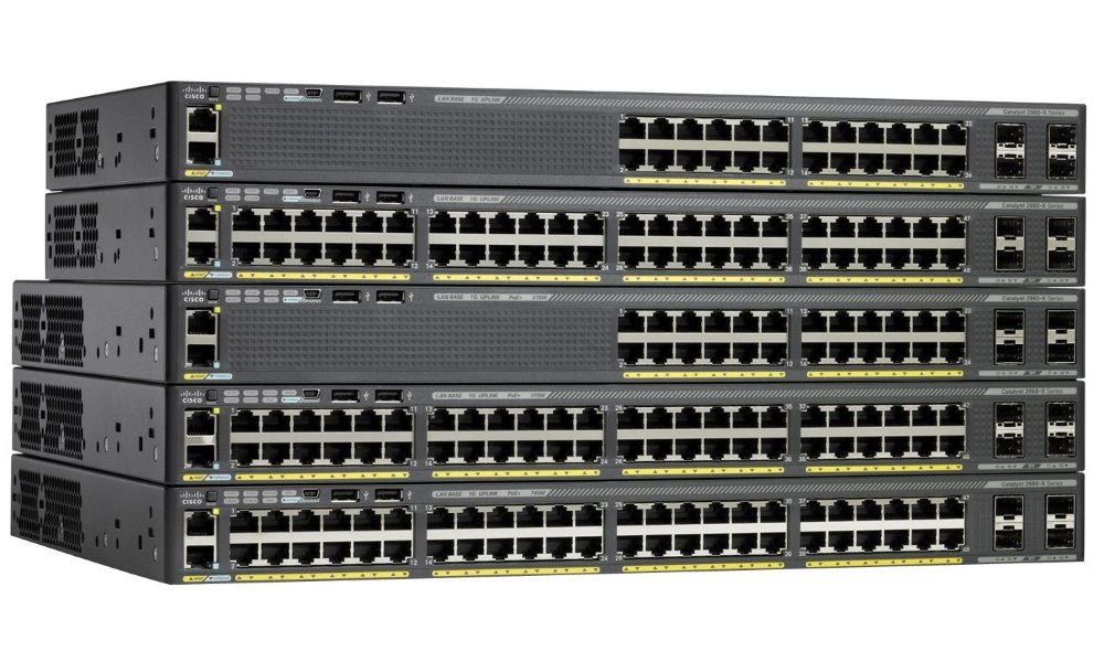 Switch Cisco Catalyst C2960X-24TS-L Switch, 24 x 10/100/1000 + 4x SFP, L3 WS-C2960X-24TS-L
