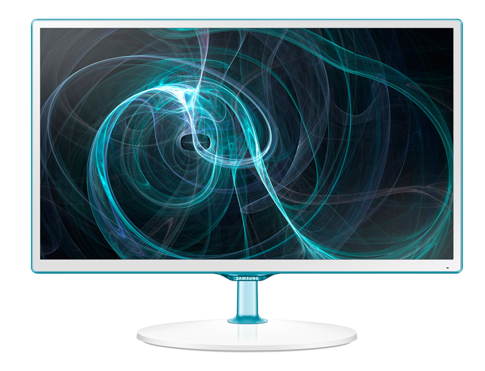 LED monitor SAMSUNG 23,6 LT24D391EW/EN LED monitor, s TV tunerem, 1920x1080, PLS, 16:9, 5ms, 250 cd/m2, HDMI, D-SUB, USB, HD tuner, Repro, čirý-bílý LT24D391EW/EN