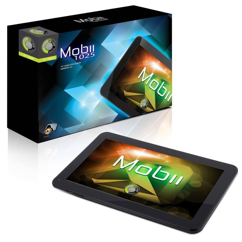 Tablet POINT OF VIEW MOBII 1025 Tablet, 10,1, Dual Core, 16GB, 3D akcelerace, Wi-Fi, USB, Micro SD, HDMI, Android 4.2 - OPRAVENÉ POVT0153V1