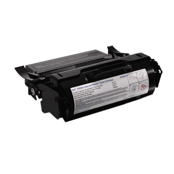 Toner Dell černý Toner pro Dell 5350dn, výdrž 30000 stran, Use and return 593-11052