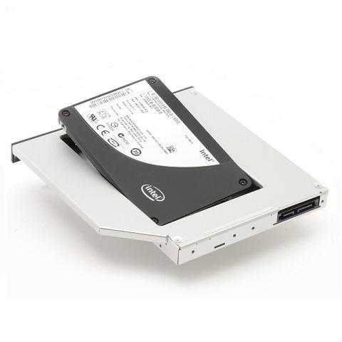 Rámeček pro sekundární HDD Dell Media Bay Rámeček pro sekundární HDD do Media Bay šachty pro Latitude E6400 ATG, E6410 ATG, E6500, E6510, Precision M2400, M4400, M4500 2BOE7