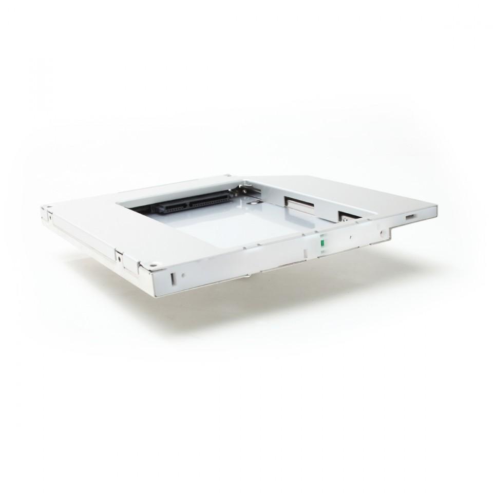 Rámeček pro sekundární HDD Dell Media Bay Rámeček pro sekundární HDD do Media Bay šachty pro Latitude E5440, E5540, Inspiron 14z, 15z, Vostro 3350 2U47F