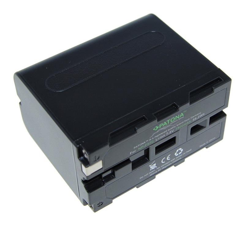 Baterie PATONA kompatibilní s Sony NP-F970 Baterie, pro videokameru, 7800mAh, Li-Ion PT1207