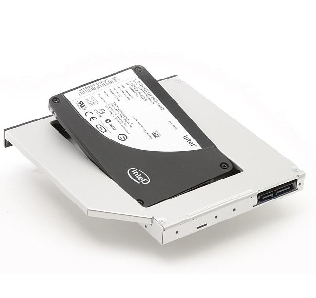 Rámeček pro sekundární HDD DELL Media Bay Rámeček pro sekundární HDD do Media Bay šachty pro XPS M1330 2BQTR