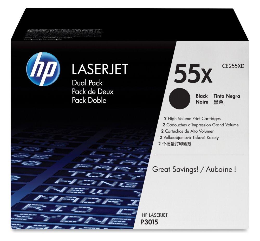 Toner HP CE255XD černý Toner pro HP LaserJet Enterprise P3015, LaserJet Pro M521, LaserJet Enterprise 500 M525, high capacity originál CE255XD