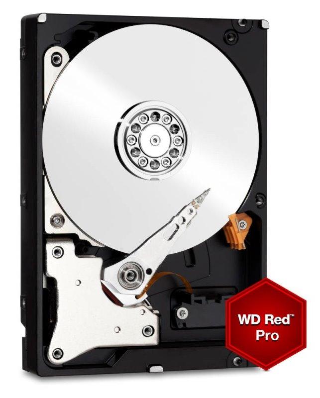 Pevný disk WD RED Pro 4 TB Pevný disk, interní, 4 TB, SATA600, 3,5, 7200 ot./min, 64 MB WD4001FFSX