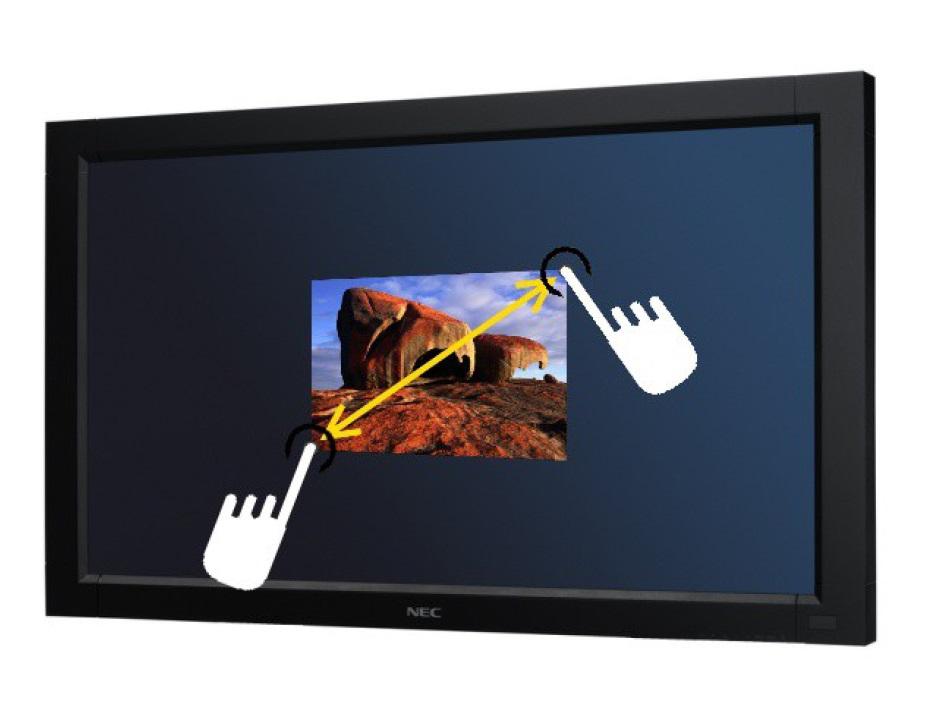 LCD monitor NEC V-Touch 32 3230w OU LCD monitor, dotykový, Multi-touch, 1920x1080, 3000:1, 8ms, HDMI, DVI, USB, Repro 2x8W, optický VT3230w OU