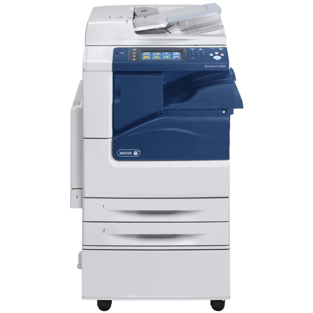 Multifunkční tiskárna Xerox WorkCentre 7200V_S Barevná multifunkční laserová tiskárna, A3, 20ppm, 2400x600dpi, USB, LAN, DUPLEX, 2 x 520 listů, nutno doplnit o inicializační kit! 7200V_S