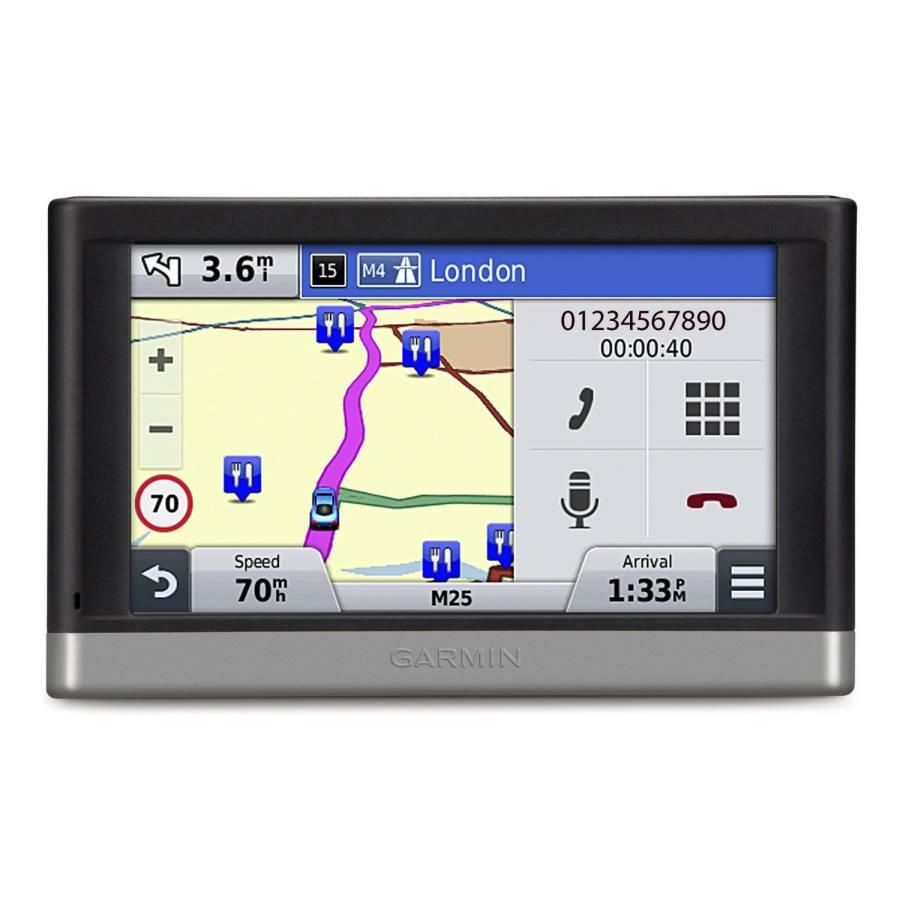 Autonavigace GARMIN nüvi 2597 Lifetime Europe 45 Autonavigace, displej 5, micsoSD, mapy Evropy 45 zemí s bezplatnou doživotní aktualizací 010-01123-31