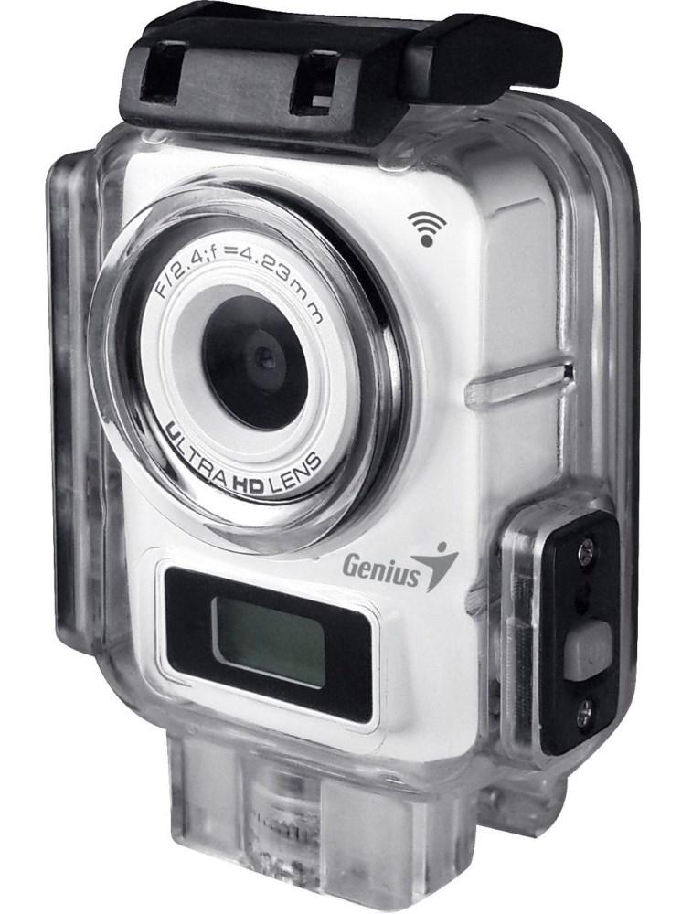 Videokamera Genius G-Shot FHD300A Videokamera, digitální, Action Cam, bílá 32300117101