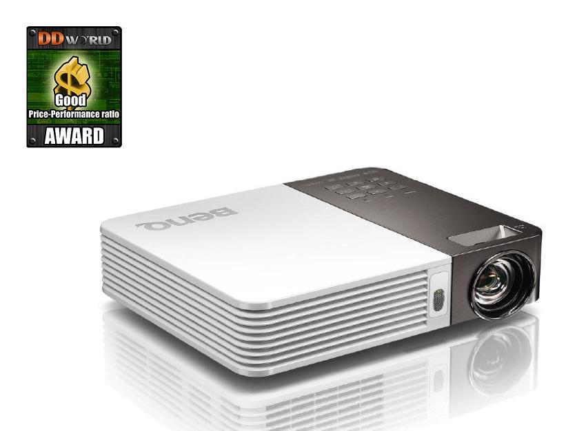 Projektor BenQ GP30 Projektor, LED, mini, WXGA, DLP, 900 ANSI, 2400:1, HDMI, USB 9H.JCK77.19E