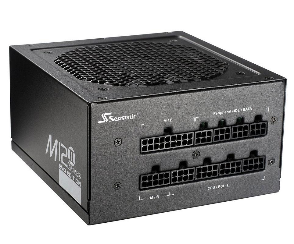 Zdroj SEASONIC M12II-520W Evo SS-520GM2 F3 520 W Zdroj, 80PLUS Bronze, cable management 1GM52BHG23D13W