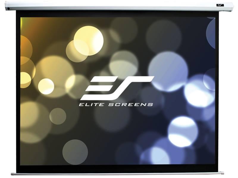 Projekční plátno ELITE SCREENS Electric110XH 110 Projekční plátno, elektrické motorové, 110 279,4 cm, 16:9, 137,2 x 244 cm, Gain 1,1, case bílý ELECTRIC110XH