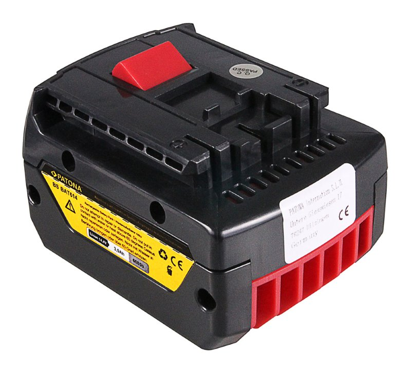 Baterie PATONA pro Bosch Baterie, pro Bosch, 3000 mAh, 14,4V Li-Ion, BAT607,BAT614,25614 PT6085