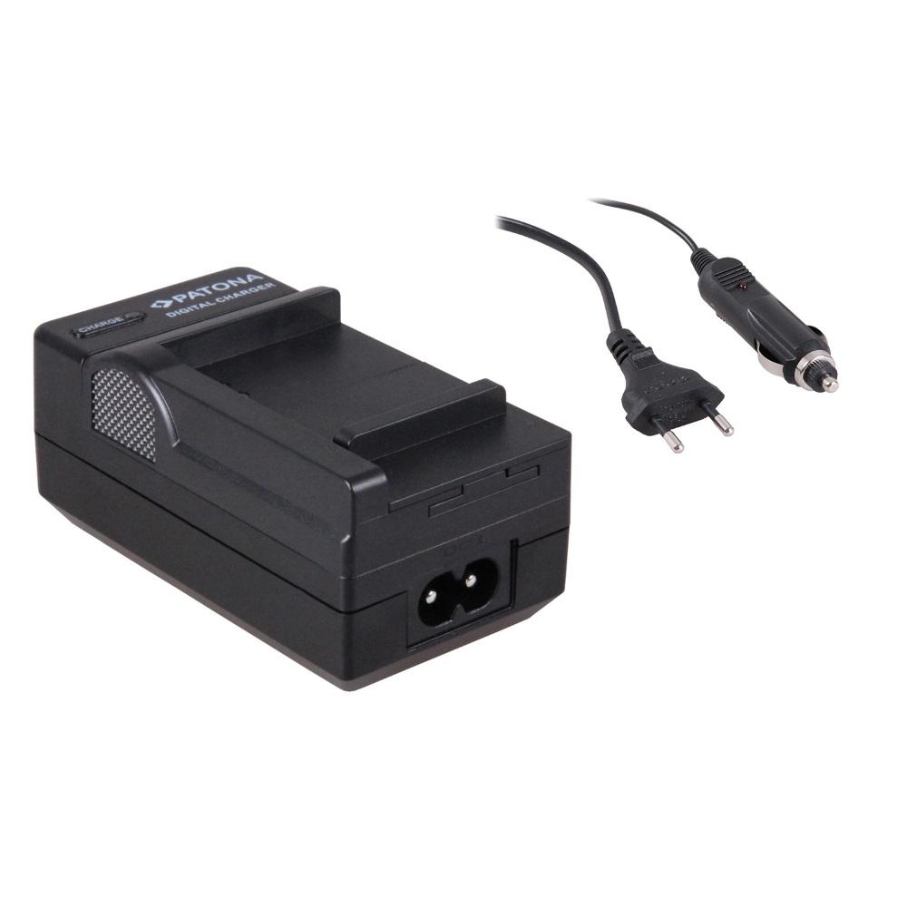 Nabíječka PATONA kompatibilní s Samsung B740 Nabíječka, pro fotoaparát, Samsung Galaxy B740, 230V, 12V PT1668