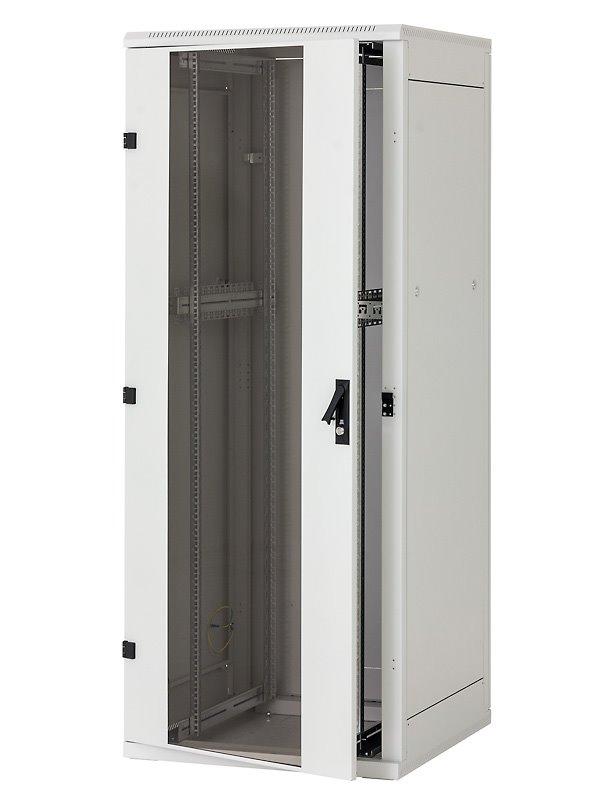 Stojanový rozvaděč Triton RMA-27-A88-CAX-A1 Stojanový rozvaděč, 27U, 800x800, skleněné dveře RMA-27-A88-CAX-A1