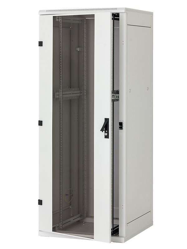 Stojanový rozvaděč Triton RMA-22-A88-CAX-A1 Stojanový rozvaděč, 22U, 800x800, skleněné dveře RMA-22-A88-CAX-A1