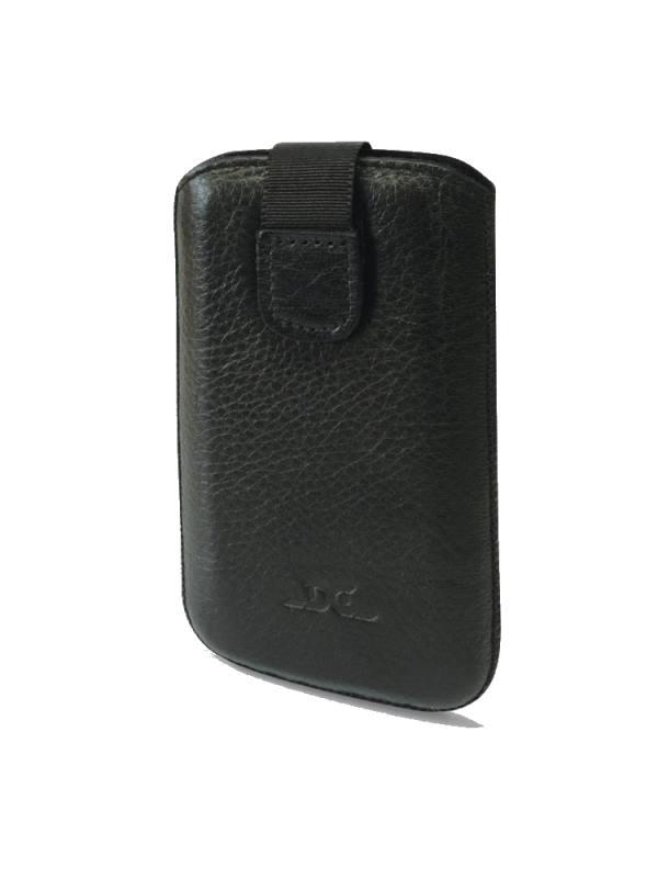 Pouzdro DC TOP 5 6XL Protect Montone Pouzdro, pro mobilní telefon, kožené, 139 x 71 x 7,9 mm, kompatibilní se Sony Xperia Z, černé LCSTOP41PRMOBK