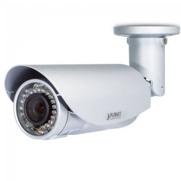 IP kamera PLANET ICA-3550V IP kamera, venkovní, 5 Mpix, Bullet, 3-10,5 F1.8, PoE, IR Cut, Audio, SD ICA-3550V