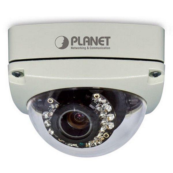 IP kamera PLANET ICA-5550V IP kamera, venkovní , 5 Mpix dome, 3-9 F1.8, PoE, IR Cut, Audio, SD ICA-5550V