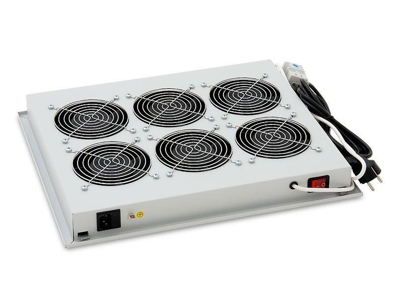 Ventilační jednotka Triton RAC-CH-X05-X3 Ventilační jednotka, spodní horní 220V,70W 6xven+Termosta RAC-CH-X05-X3