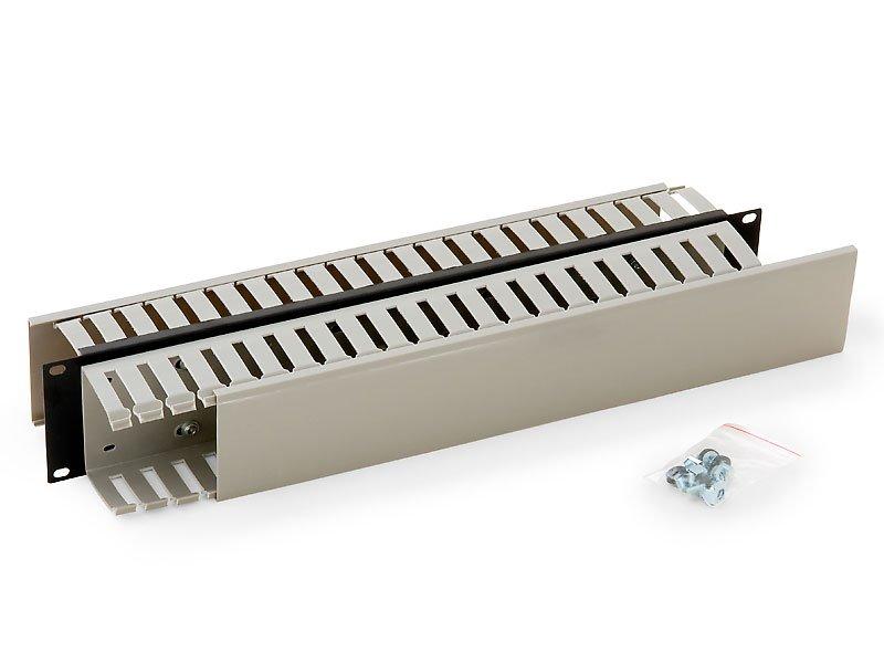 Optický vyvazovací panel Triton RAB-VP-X05-A1 Optický vyvazovací panel, 19 2U oboustranná plast.lišta BK RAB-VP-X05-A1