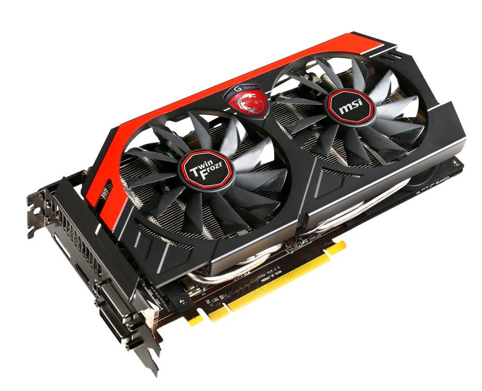 Grafická karta MSI N770 TF 2GD5/OC Gaming Grafická karta, PCI-E, 2GB GDDR5, 2xDVI, HDMI, DP - OPRAVENÉ VGMSI7952V