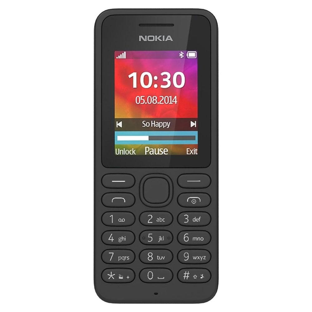 Mobilní telefon Nokia 130 Dual SIM černá Mobilní telefon, 1,8 displej, Bluetooth, černá barva A00021157