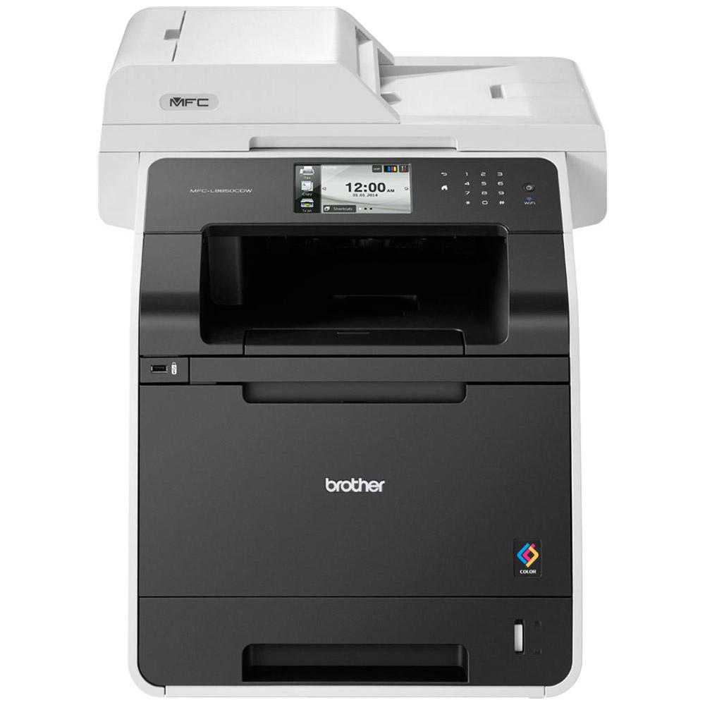 Multifunkční tiskárna BROTHER MFC-L8850CDW Barevná multifunkční laserová tiskárna, A4, PCL6, 2400x600 dpi, 256MB, LCD, duplex, ADF, print, copy, scan, fax, USB, Síť, Wi-Fi MFCL8850CDWYJ1