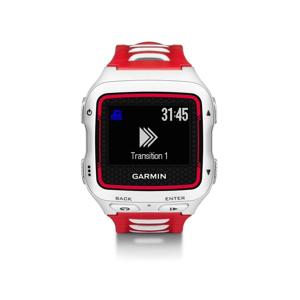 Sportovní hodinky GARMIN Forerunner 920 XT HR RUN Sportovní hodinky, GPS, snímač tepu HR RUN, White/Red 010-01174-31