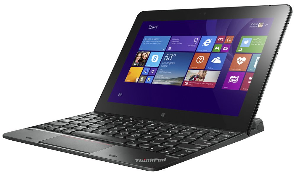 Klávesnice Lenovo pro Lenovo ThinkPad Tablet 10 Klávesnice, pro Lenovo ThinkPad Tablet 10, dokovací stanice, černá 4X30E68109