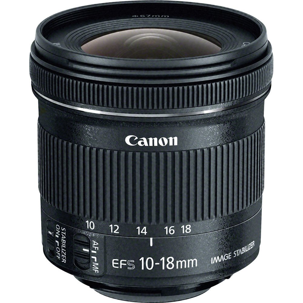 Objektiv Canon EF-S 10 - 18 mm f/4.5-5.6 IS STM Objektiv, EF-S, 10-18mm, f/4.5-5.6, IS, STM, zoom 9519B005AA