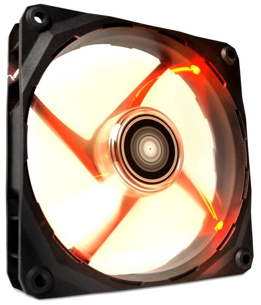 Ventilátor NZXT RF-FZ140-R1 Ventilátor, 140mm, LED, 83,6 CFM, 24,5 dBA, 2 roky záruka, červený RF-FZ140-R1