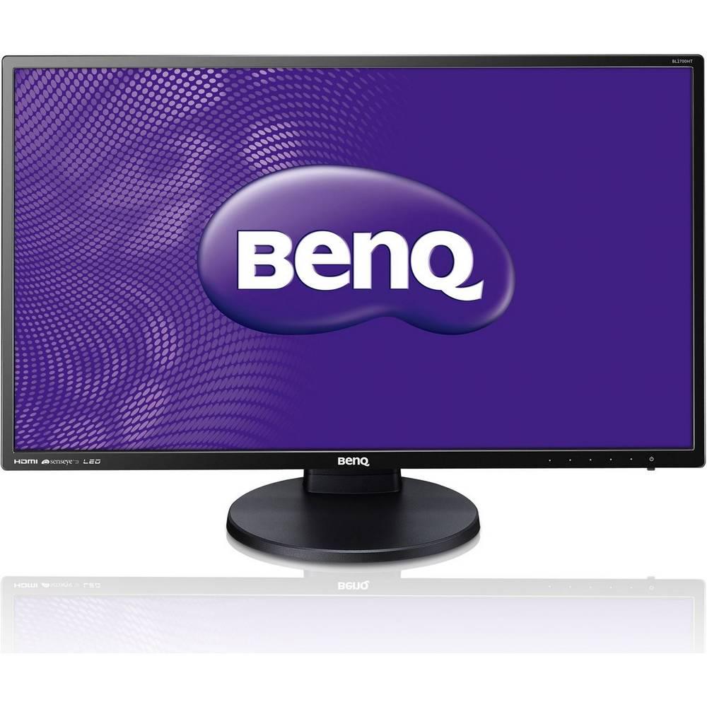 LED monitor BENQ 27 BL2700HT LED monitor, 27, Flicker-Free, Low Blue Light, 1920x1080, VA panel, 20M:1, 4ms, DVI, HDMI, repro, černý, Pivot 9H.LCSLB.QBE