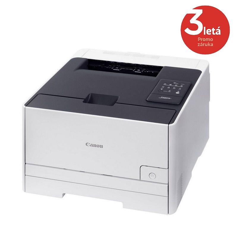 Laserová tiskárna Canon i-SENSYS LBP7110Cw Barevná laserová tiskárna, A4, až 1200x1200 dpi, Barevná, USB, Síť, Wi-Fi, Bílá 6293B003