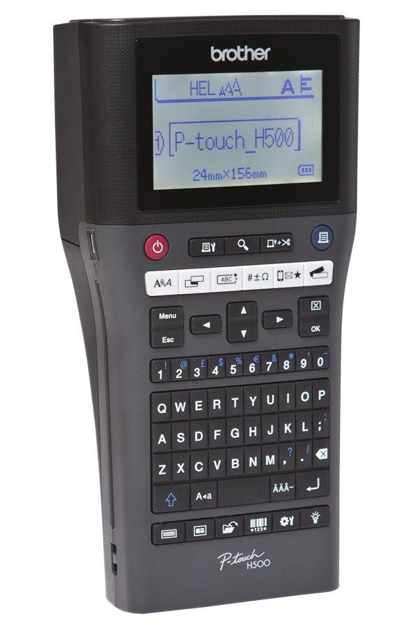 Tiskárna samolepících štítků BROTHER PT-H500 Tiskárna samolepících štítků, podpora tisku z PC PC touch editor, stolní PTH500YJ1