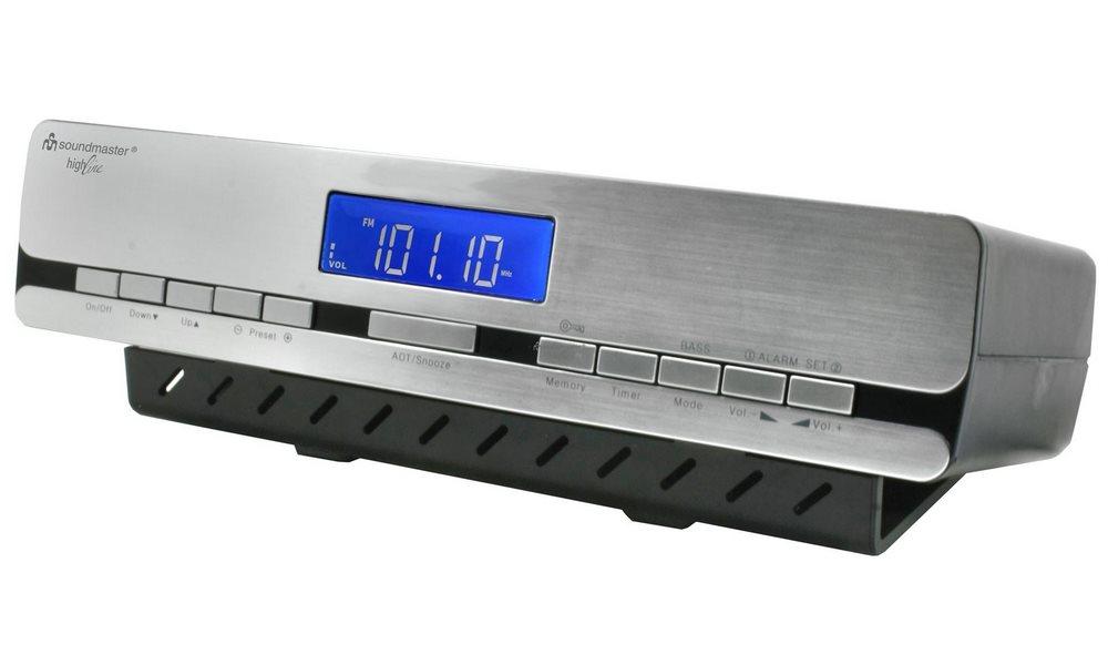 Rádio Soundmaster UR2006 Rádio, kuchyňské, RDS, rádiem řízený čas, stříbrné UR2006