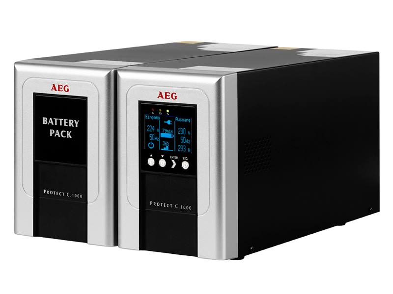 Baterie AEG UPS Battery Pack Protect C.1000 2014 Baterie, pro UPS, pro Protect C.1000 2014 6000016106