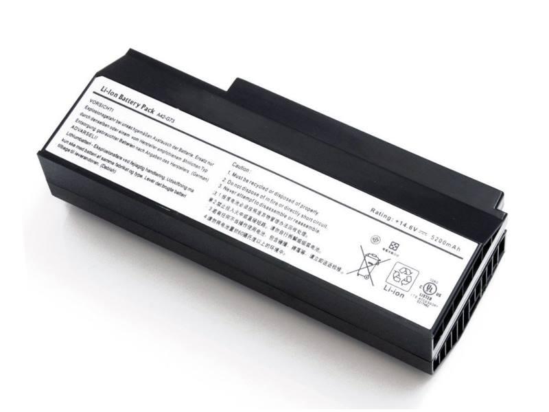 Baterie TRX pro Asus 5200 mAh Baterie, 5200 mAh, pro notebooky Asus G53, G53J, G53JW, G53S, G53SW, G53SX, G73, G73G, G73GW, G73J, G73JH, G73JW, G73S, G73SW, neoriginální TRX-A42-G73