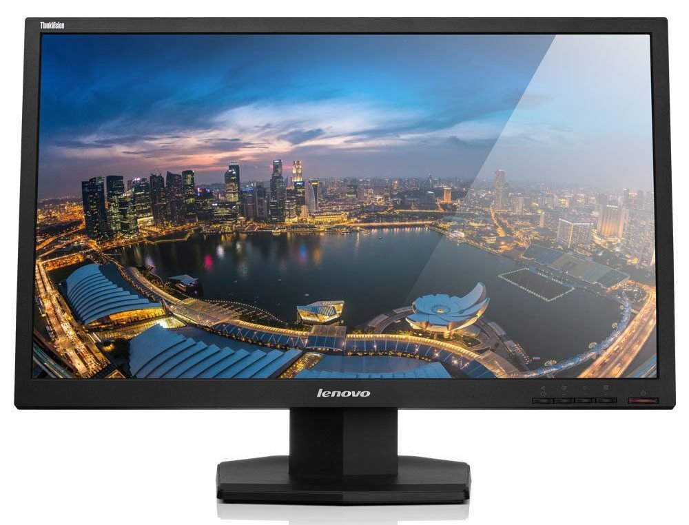 LED monitor Lenovo LT2423 Wide 24 LED monitor, TN-WLED, 16:9, 1920 x 1080, 250cd/m2, 1000:1, 5ms, VGA, HDMI, VESA 60A8KAT2EU