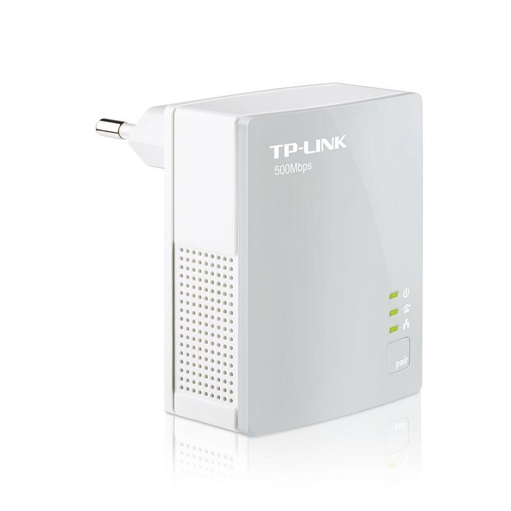 HomePlug TP-LINK TL-PA4010 AV500 Nano Powerline HomePlug, Powerline ethernet, Starter Kit nano adaptér 500 Mbps, 1ks TL-PA4010