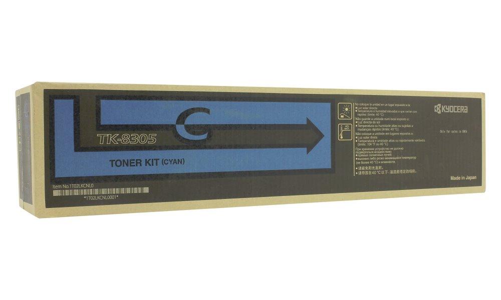 Toner Kyocera TK-8305C modrý Toner, originální, pro Kyocera TASKALFA 3050CI, TASKALFA 3550CI, 15000 stran, modrý TK-8305C