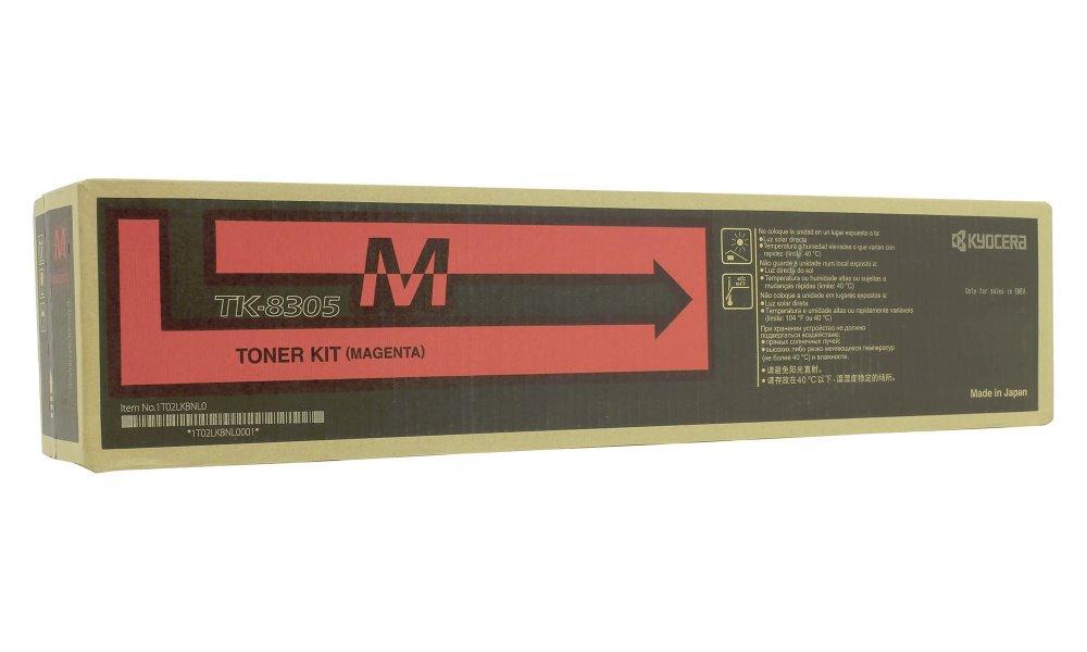 Toner Kyocera TK-8305M červený Toner pro Kyocera MITA TASKALFA 3050CI, MITA TASKALFA 3550CI, 15000 stran TK-8305M