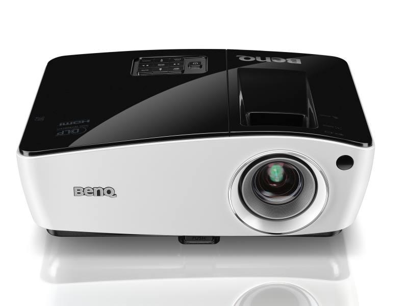 Projektor BenQ MX723 Projektor, DLP, XGA, 3700 ANSI, 13000:1, VGA, HDMI, LAN 9H.JCV77.33E