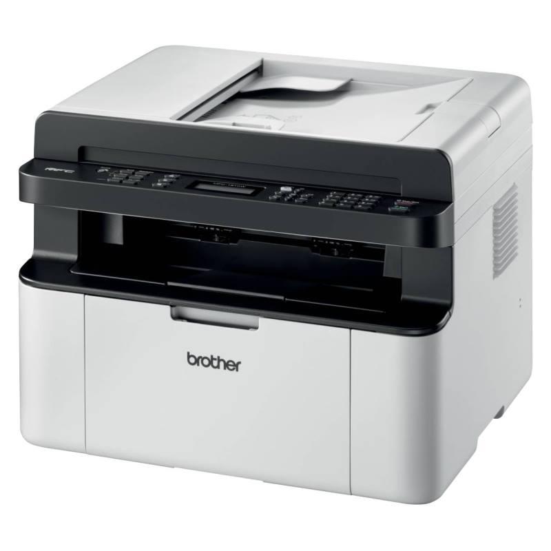 Multifunkční tiskárna Brother MFC-1910WE Černobílá multifunkční laserová tiskárna, A4, 2400x600 dpi, print, copy, scan, fax, USB, Wi-Fi, ADF MFC1910WEYJ1