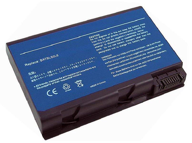 Baterie TRX pro notebook Acer 5200 mAh Baterie, pro notebook, 11.1 V, 5200 mAh, pro Aspire 3100, Travelmate 4200, Aspire 3690, 5100, 5110, 5610, 5630, 5650, TM2490, TM4200, TM4230 TRX-BATBL50L6 H